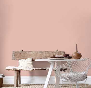 ambiance d co scandinave avec une peinture salon rose poudr d co salon living room. Black Bedroom Furniture Sets. Home Design Ideas
