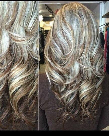 Love This Chocolate Blonde Blonde Hair With Highlights Light Blonde Highlights Hair Styles