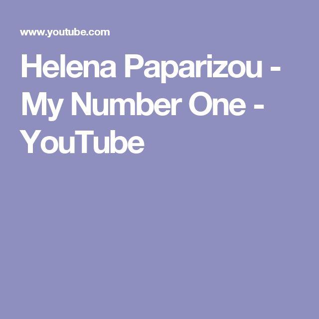 Helena Paparizou - My Number One - YouTube