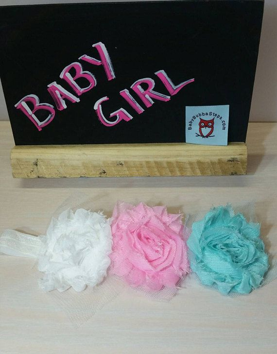 You will love our soft and colorful lace rosettes on a soft elastic headband for your gorgeous little one! Headband measures 37cm and stretches easily and comfortably to 50cm.  Fits up to 18 months approximately - depending on head size  Easy care: just toss into a gentle wash cycle and air dry! So pretty, youll want more than one!  Up to 4 headbands in 1 envelope for listed postage.