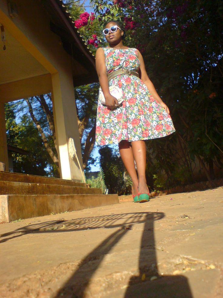 Escape: the floral dress