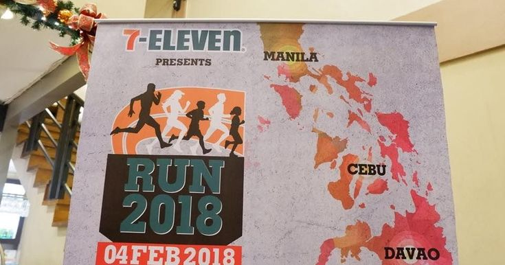 Calling all health and fitness conscious and sports-minded individuals. Philippine Seven Corporation the countrys licensee ff 7-Eleven is hosting one of the most awaited run events in the Philippines. The 7-Eleven Run 2018 is the biggest run to date which will be held on February 4 2018 and will happen simultaneously in Manila Cebu and Davao.  With 7- Elevens unique system of selected wave starts participants will have the chance to choose their wave start and run with people who has the…