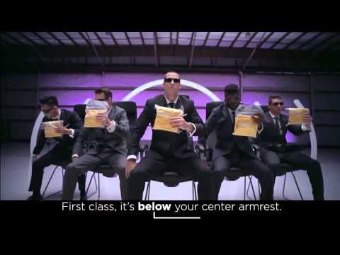Virgin America Safety Video - Excellent!!