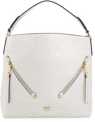 e838351ebd81 MICHAEL Michael Kors Evie Large Leather Hobo Bag | BUY A HANDBAG in ...