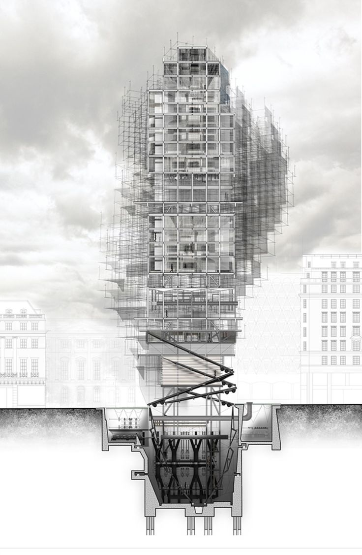 The RIBA President's Medals Student Awards :: 2050 Lab Home Hotel by Angela Vanezi - London South Bank University London UK