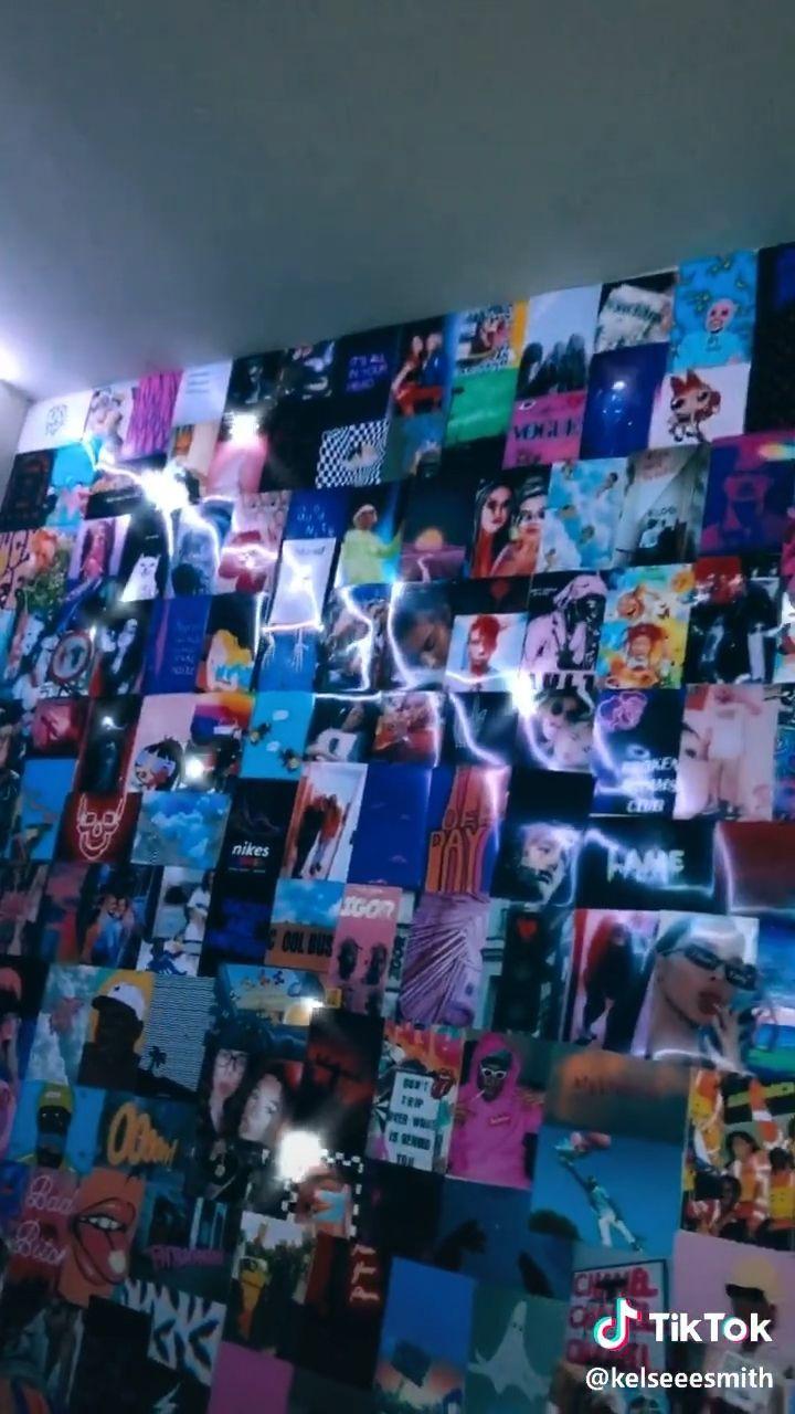 Pin By Ajwa Homes On Room Goals Neon Room Grunge Room Grunge Room Ideas