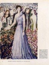 """1946年Touchagues乔治太太皮杜尔""""土地第一夫人"""""""