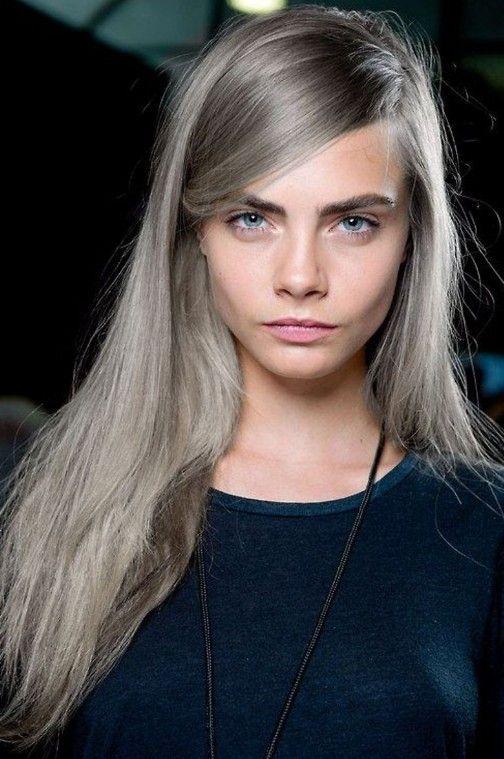 Açık Renk Küllü Saç Modelleri