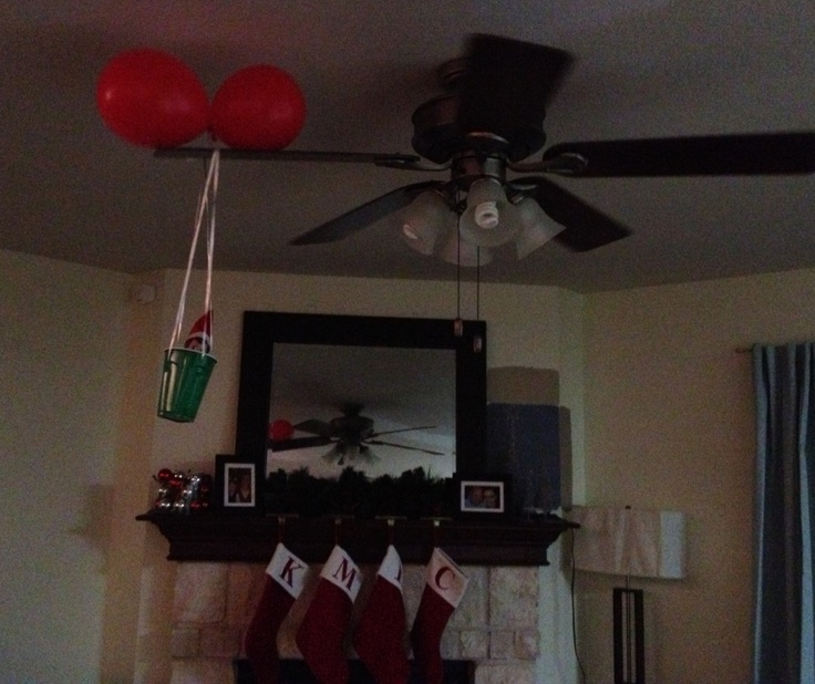 9 best elf on the shelf christmas ideas images on for Elf on the shelf balloon ride
