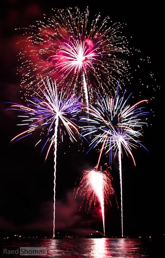 4th of July Fireworks by Raed Shomali, via 500px