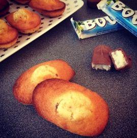 Madeleines aux Bounty : la recette facile