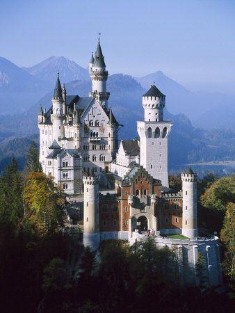 Neuschwanstein Castle, Füssen Bavaria, South Germany