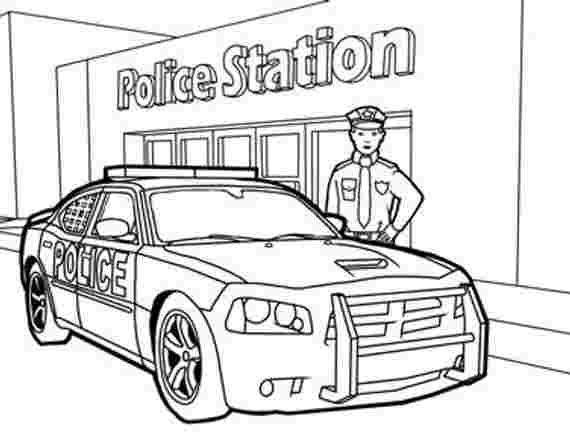 Pictures Of Police Station Coloring Pages In 2020 Police Station Police Cars Coloring Pages