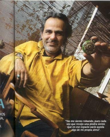 Luis Luna, pintor - Foto: Cesar K-rrillo