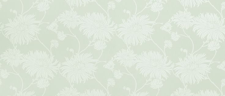 Kimono Eau De Nil Floral Wallpaper at Laura Ashley