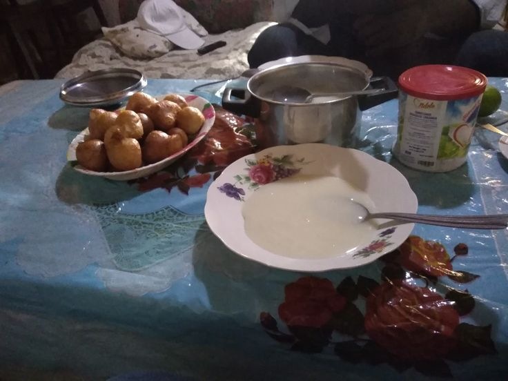 A Cameroonian breakfast dish