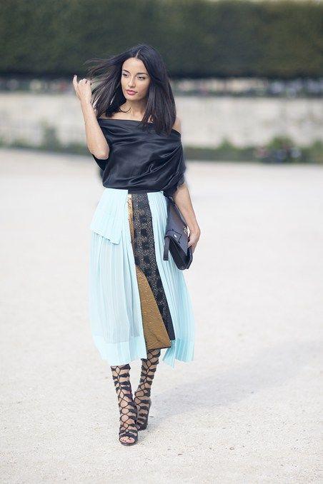 Amina Muaddi, Paris Fashion Week