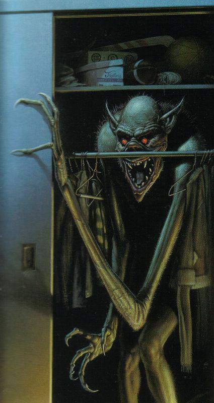 The Boogeyman in Your Closet (Boogeyman,  Michael Whelan)