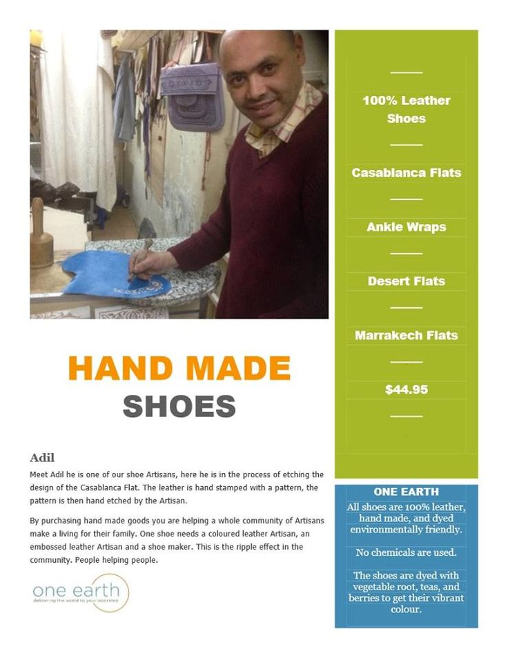 Meet Adil : Shoe Artisan http://www.one1earth.com/#_a_marymadalene