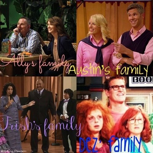 Hahaha I love it! If you look in the corner of the Dez family it says 'boo'.... Hahah