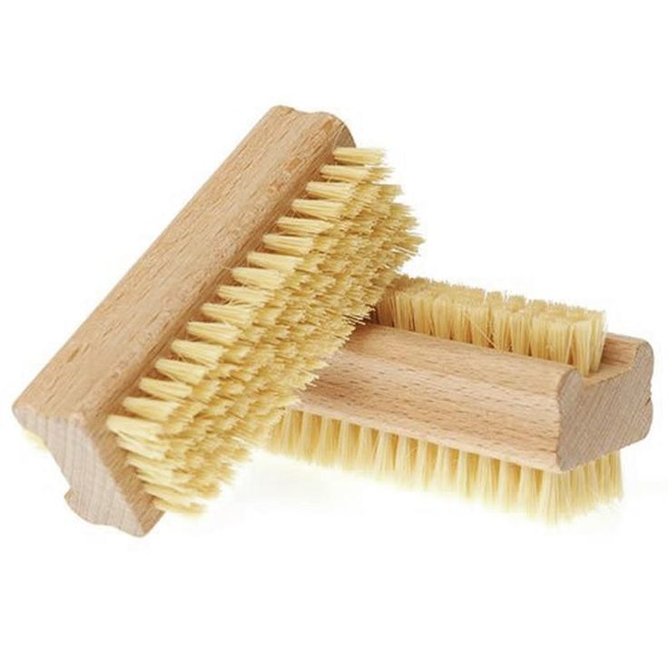 [Visit to Buy] Nail Art Trimming Bristle Brush Manicure Files Pedicure Cleaning Scrubbing Nail Bath Wooden Brush Tool    88 #Advertisement