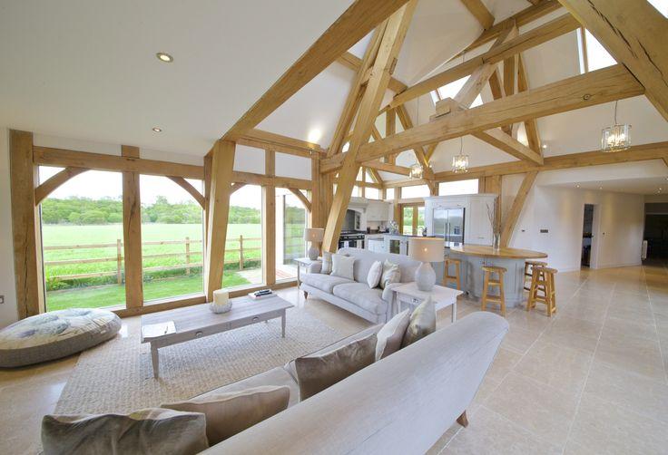 Image result for oak framed kitchen design
