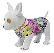 Afbeeldingsresultaat voor papier maché hond