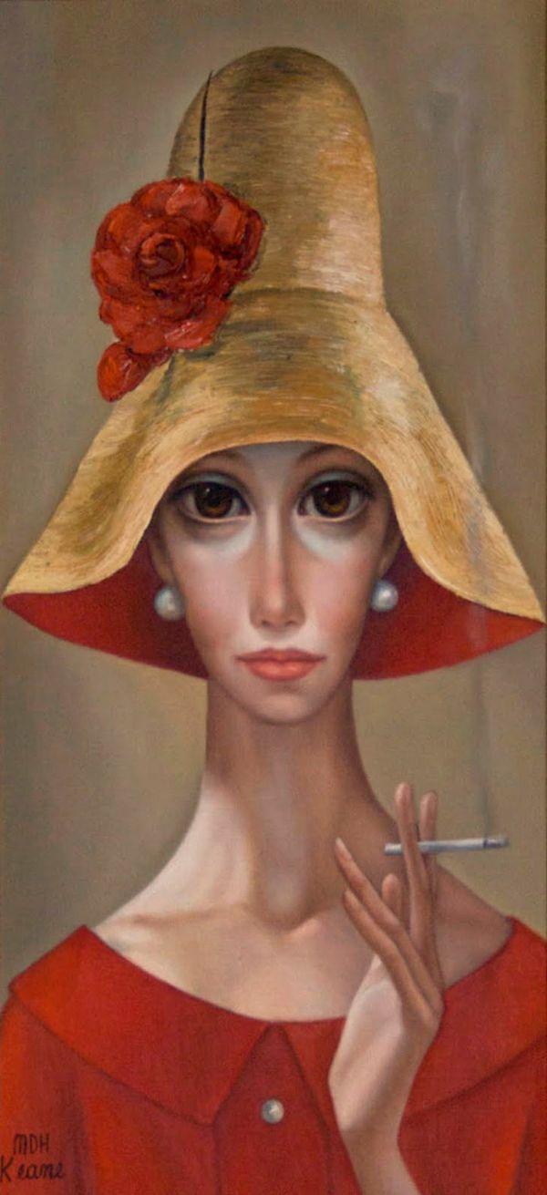 the paintings of margerat keane | Big Eyes, paintings by Margaret Keane