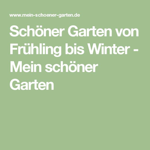 1000+ ideas about Schöner Garten on Pinterest | Beautiful Gardens ...