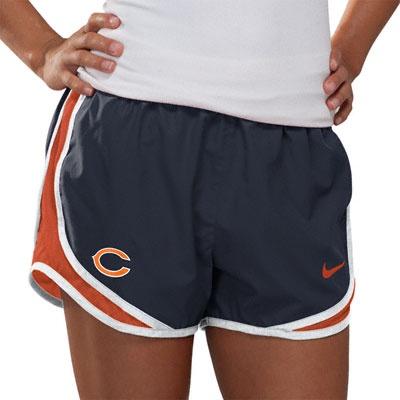 Chicago Bears Women's Navy Nike Dri-Fit NFL Tempo Short