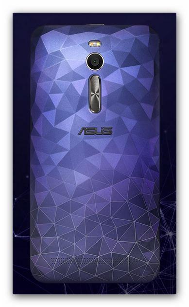 Asus Zenfone 2 Deluxe Smartphone von hinten