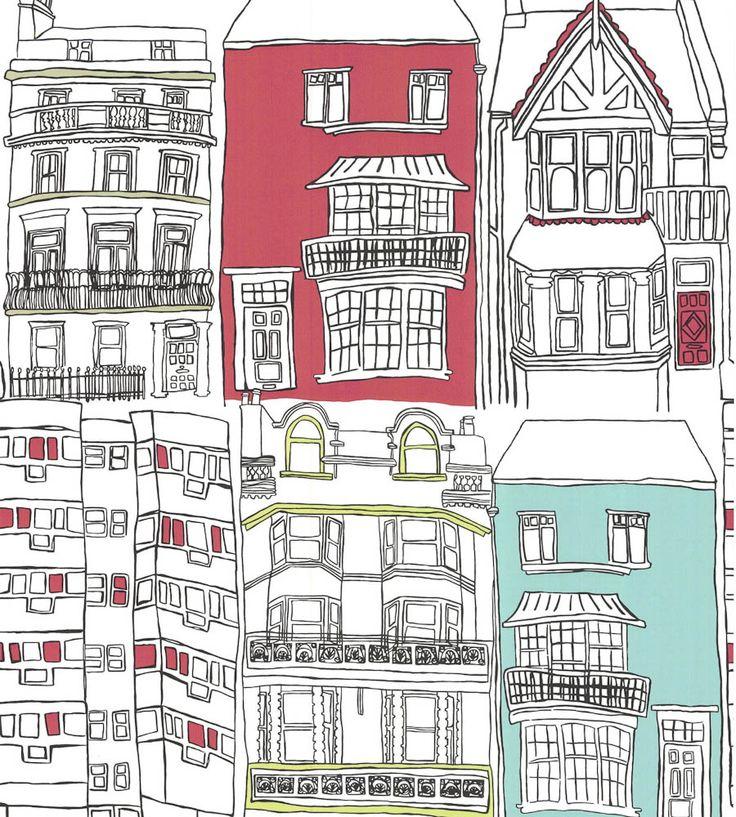 Brighton Wallpaper by Harlequin | Jane Clayton