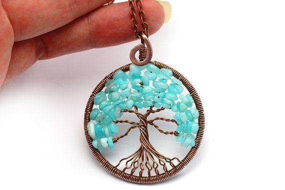 Colgante árbol de la vida árbol vida collar de por KittenUmka