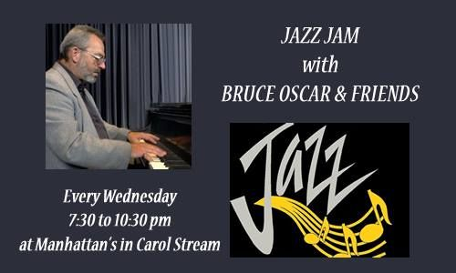 Jazzzzzzzz with The Bruce Oscar Trio and friends! Tonight at Manhattan's American Bar and Grill, starting at 7:30 pm. Why not join us? Only at Manhattan's American Bar and Grill! #Kentsdeals