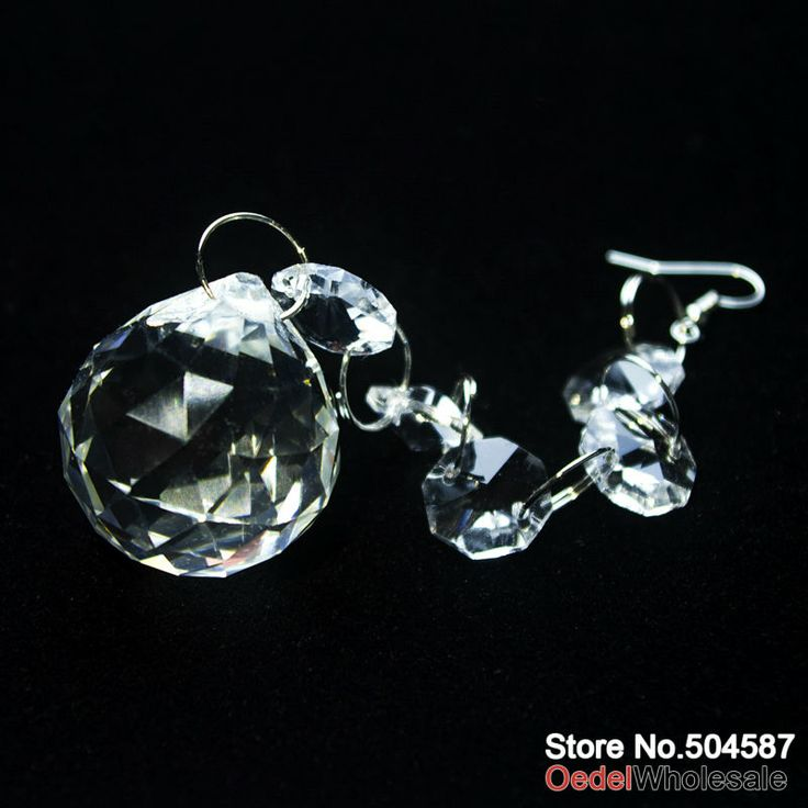 50 pieces, 7 inches Crystal Garlands/Strands, Centerpiece Decorations, Crystal Decoration Accessories, CH004 US $110.00