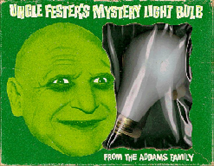 uncle fester lightbulb