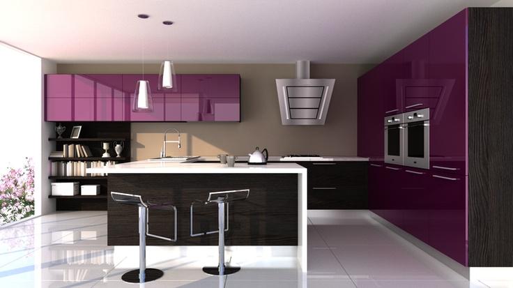 Open-space kitchen by Carmen Lala (Profilo Group)