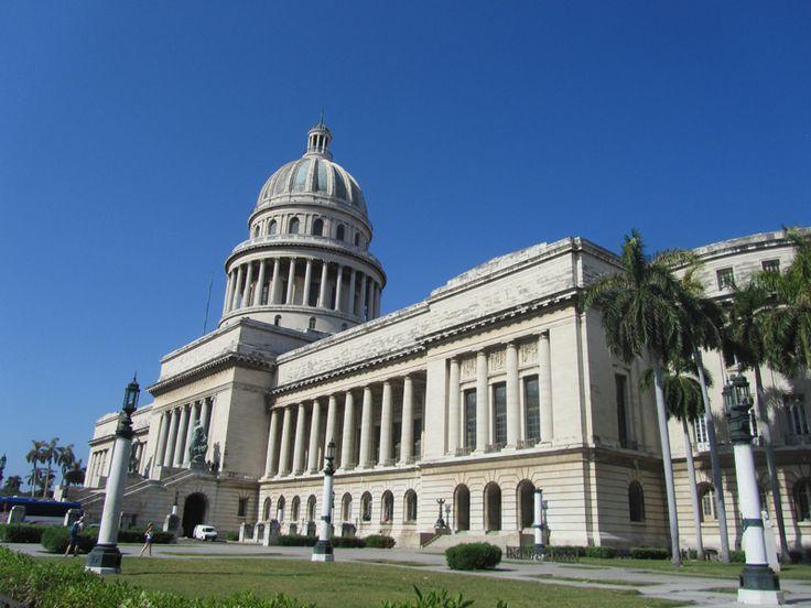 Capitol building in Havana.