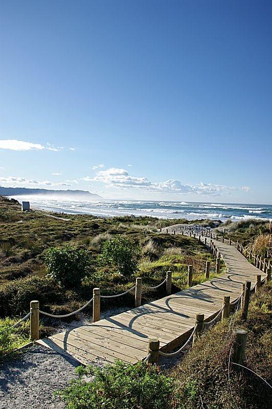 The Southern End of Waihi Beach, New Zealand #waihibeach #nz #newzealand #bayofplenty