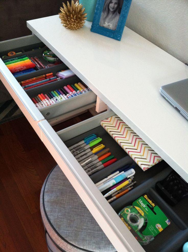 Desk Organization.                                                                                                                                                      More