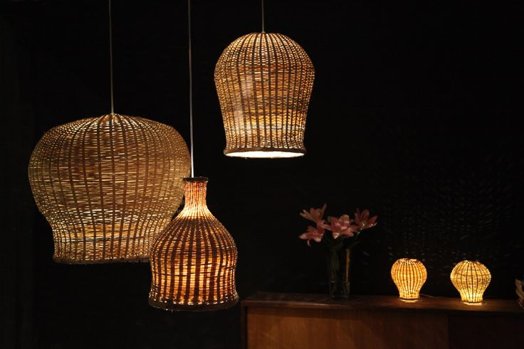 Each edition of these TIKAU lights is handmade and unique