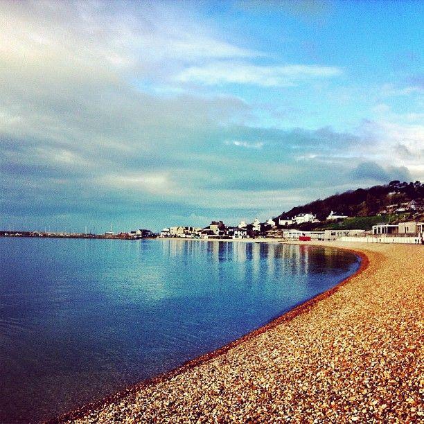 Lyme Regis Beach in Lyme Regis, Dorset