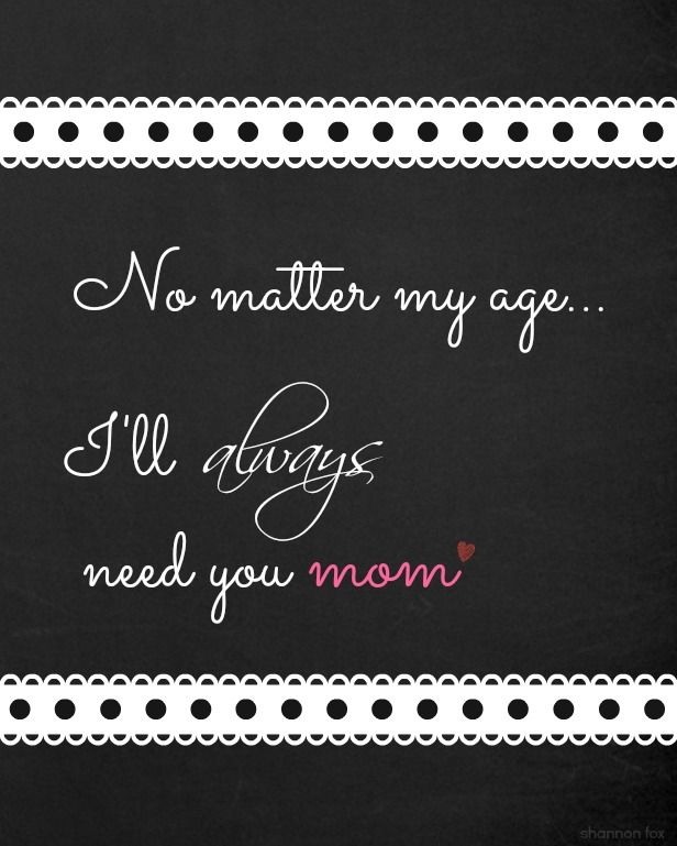Mothers Day Chalkboard Printable 8 x 10 @Shannon Bellanca Fox Hollow Cottage