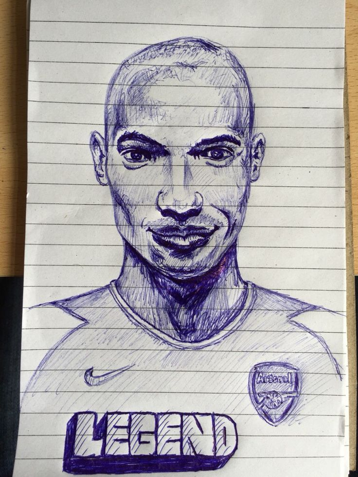 Thierry Henry Sketch @ThierryHenry