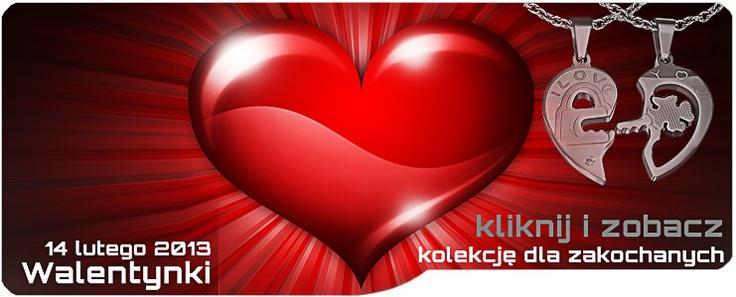 Już za 14 dni Walentynki.  Polecamy zawieszki puzzle - idealne na prezent dla Niej i dla Niego: http://zubiro.com/zawieszki_dla_dwojga,53,0.html