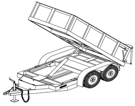 10x5 Hydraulic Dump Trailer Plans