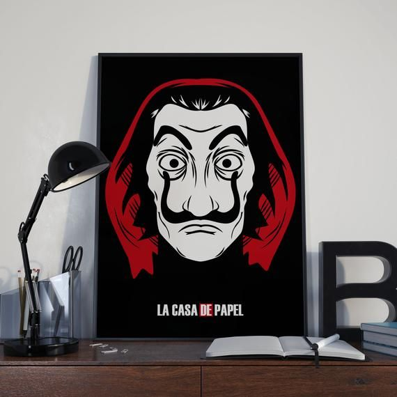 Money Heist La Casa De Papel Money Heist Poster Printable