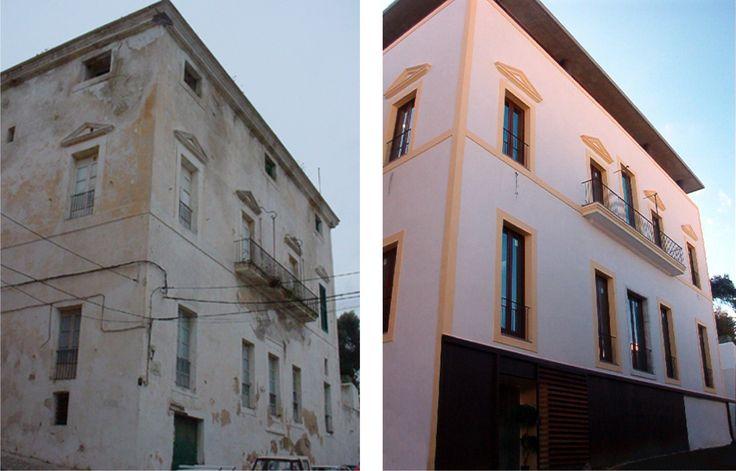 Exterior tradicional edificios via planreforma for Exterior edificios