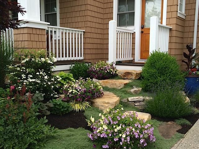 Garden Steps by member Tannis Nelson-Boissonnault. - via @Craftsy