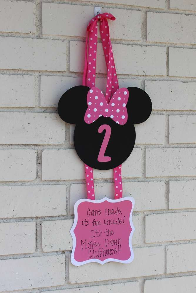Minnie Mouse Birthday Party Ideas | Photo 2 of 30 | Catch My Party